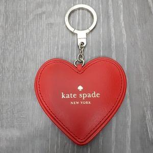 KATE SPADE Heart Keychain